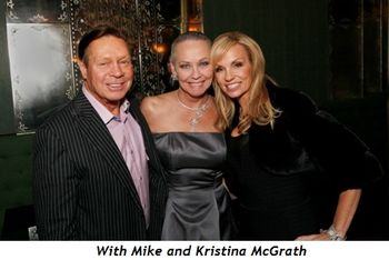 With Mike and Kristina McGrath