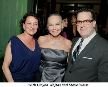 With Lucyna Wojtas and Steve Weiss
