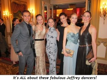 3 - It's ALL about these fabulous Joffrey dancers!