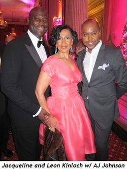 9 - Jacqueline and Leon Kinloch with AJ Johnson