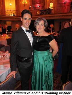 11 - Mauro Villanueva and his stunning mother
