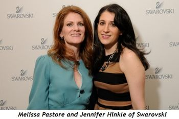 2 - Melissa Pastore and Jennifer Hinkle of Swarovski