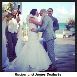Rachel and James DeMarte