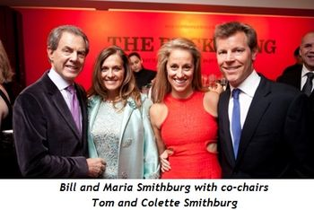 12 - Bill and Maria Smithburg with co-chairs Tom and Colette Smithburg