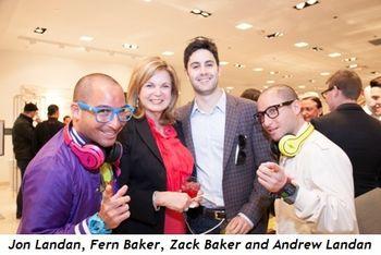6 - Jon Landan, Fern Baker, Zack Baker and Andrew Landan