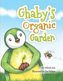 1 - Milesh Jain's new book Gaby's Organic Garden