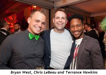 6 - Bryan West, Chris LeBeau and Terrance Hawkins