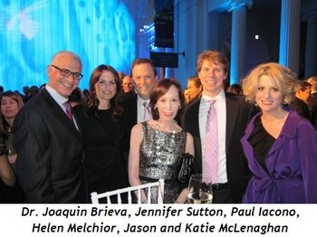 2 - Dr. Joaquin Brieva, Jennifer Sutton, Paul Iacono, Helen Melchior, Jason and Katie McLenaghan