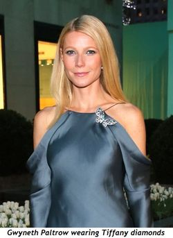 3 - Gwyneth Paltrow wearing Tiffany diamonds