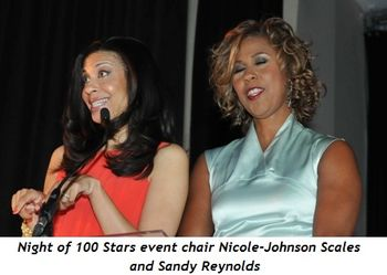 4 - Night of 100 Stars event chairman Nicole-Johnson Scales and Sandy Reynolds