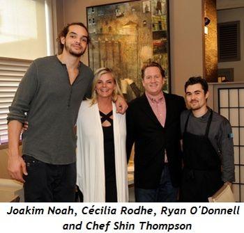 1 - Joakim Noah_Cécilia Rodhe_Ryan O'Donnell_Shin Thompson