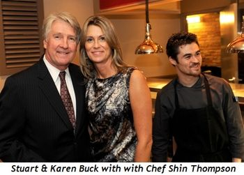 5 - Stuart Buck_Karen Buck with with Chef Shin Thompson