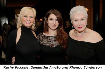 5 - Kathy Piccone, Samantha Amato and Rhonda Sanderson