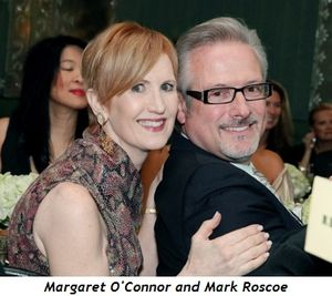 Margaret O'Connor and Mark Roscoe