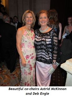 2 - Beautiful co-chairs Astrid McKinnon and Deb Engle