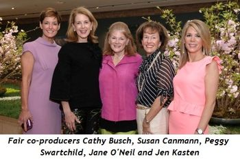 1 - Fair Co-Producers Cathy Busch , Susan Canmann , Peggy Swartchild, Jane O'Neil  and Jen Kasten