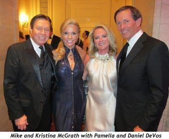 4 - Mike and Kristina McGrath with Pamella and Daniel DeVos