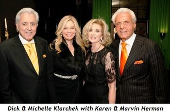 Dick and Michelle Klarchek with Karen and Marvin Herman