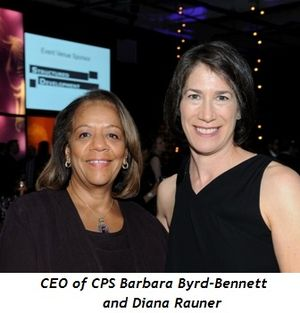 16 - CEO of CPS Barbara Byrd-Bennett and Diana Rauner