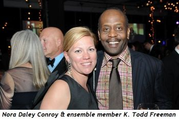 18 - Nora Daley Conroy and ensemble member K. Todd Freeman