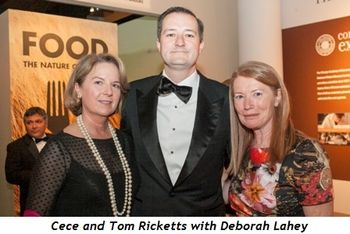 1 - Cece and Tom Ricketts with Deborah Lahey