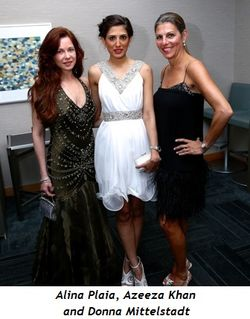 3 - Alina Plaia, Azeeza Khan and Donna Mittelstadt