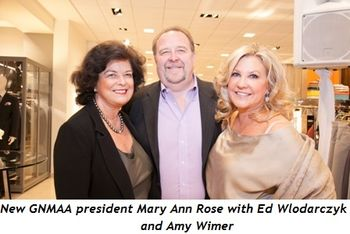 3 - New GNMAA president Mary Ann Rose, Amy Wimer and her husband Ed Wlodarczyk