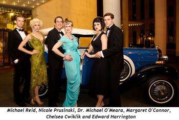 1 - Michael Reid, Nicole Prusinski, Dr. Michael O'Meara, Margaret O'Connor, Chelsea Cwiklik, Edward Harrington (all Chicago) - photo by Jon Recana