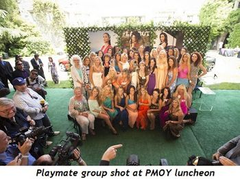 2 - Playmate group shot at PMOY luncheon