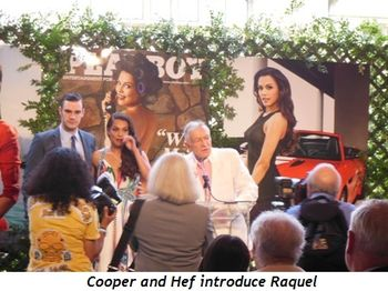 8 - Cooper and Hef introduce Raquel