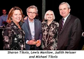 6 - Sharon Tiknis, Lewis Manilow, Judith Neisser, Michael Tiknis