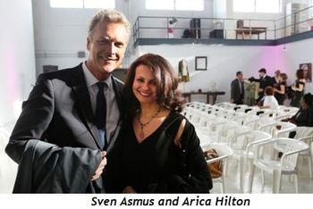 3 - Sven Asmus, Arica Hilton
