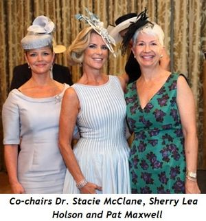 1 - Co-chairs Dr. Stacie McClane, Sherry Lea Holson and Pat Maxwell