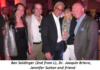 19 - Ben Soldinger (2nd from L), Dr. Joaquin Brieva, Jennifer Sutton and friend