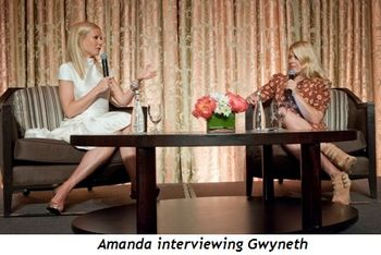 4 - Amanda interviewing Gwyneth