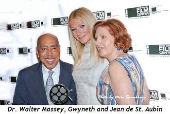 5 - Dr. Walter Massey, Gwyneth and Jean de St. Aubin