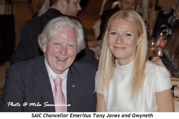 8 - SAIC Chancellor Emeritus Tony Jones and Gwyneth