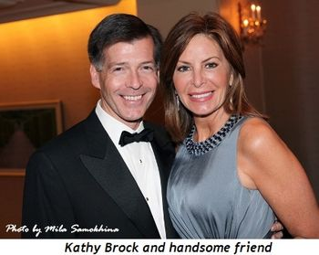 10 - Kathy Brock and handsome friend