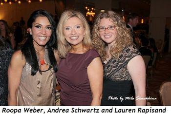 11 - Roopa Weber, Andrea Schwartz and Lauren Rapisand