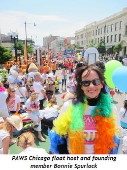 2 - Chicago float host and founding member Bonnie Spurlock