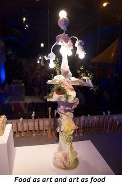 8 - Food as art and art as food