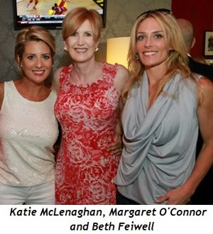 2 - Katie McLenaghan, Margaret O'Connor and Beth Feiwell