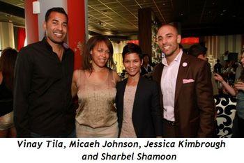 4 - Vinay Tila, Micaeh Johnson, Jessica Kimbrough, Sharbel Shamoon