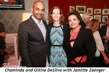 7 - Chaminda and Gitine DeSilva and Jamitte Zaenger