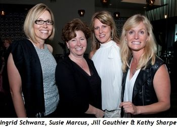 7 - Ingrid Schwanz, Susie Marcus, Jill Gauthier and Kathy Sharpe