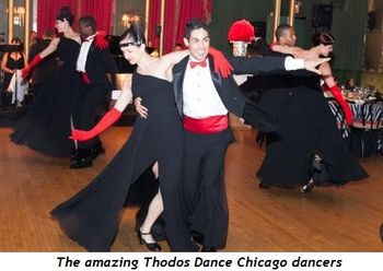 4 - The amazing Thodos Dance Chicago dancers