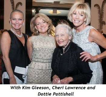 With Kim Gleeson, Cheri Lawrence and Dottie Pattishall