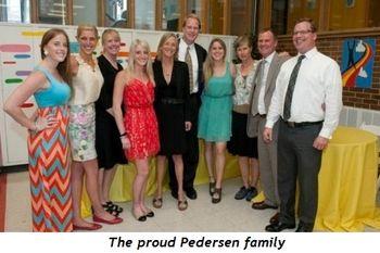 3 - The proud Pedersen family