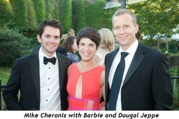 15 - Mike Cheronis with Barbie and Dougal Jeppe