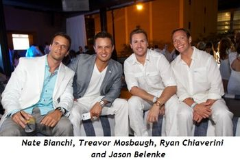 2 - Nate Bianchi, Treavor Mosbaugh, Ryan Chiaverini and Jason Belenke